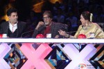 Karan Johar, Amitabh Bachchan and Kirron Kher promote 'Bhoothnath Returns' on the Sets of India's Got Talent