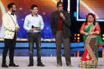 Andy, Amitabh Bachchan and Bharti Singh promote 'Bhoothnath Returns' on the Sets of India's Got Talent