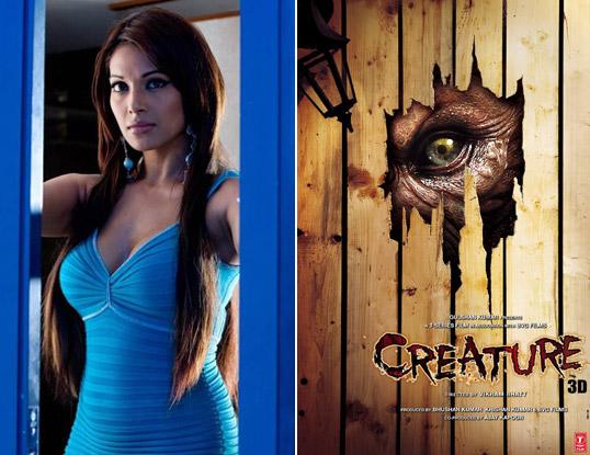 Bipasha Basu and 'Creature' Movie Poster