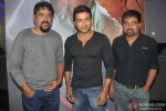 Santosh Sivan and Suriya attend the special screening of Tamil film 'Inam'