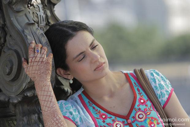 Kangana Ranaut in a still from movie 'Queen'