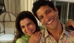 Sweet Selfie: Farah Khan and Farhan Akhtar