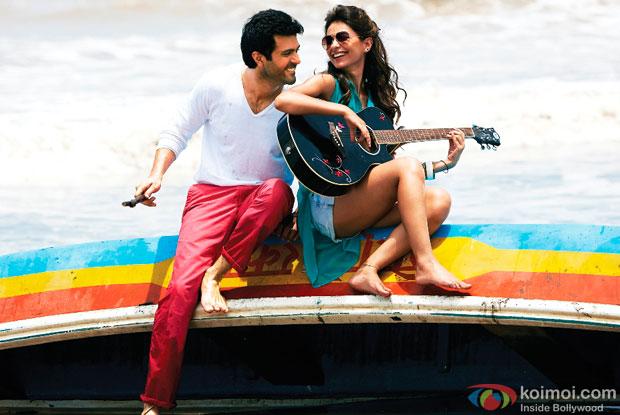 Harman Baweja and Ayesha Khanna in a 'Tu Hi Hai Aashiqui' song still from movie 'Dishkiyaoon'