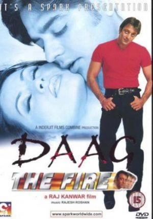 'Daag - The Fire' Movie Poster