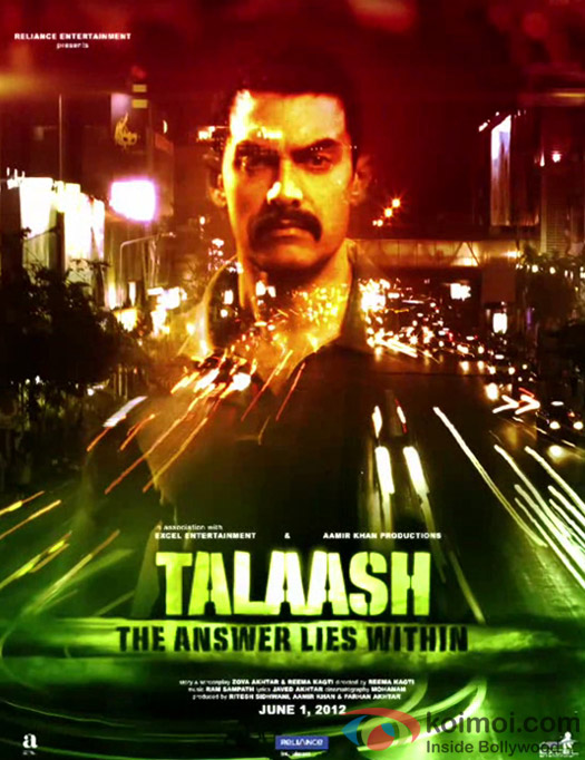 'Talaash - The Answer Lies Within' Movie Poster