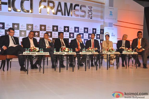 FICCI Frames 2014 Press Conference