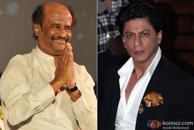 Rajinikanth and Shah Rukh Khan
