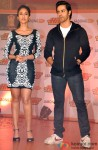 Ileana DCruz and Varun Dhawan promote Main Tera Hero-Jabong Association Pic 2