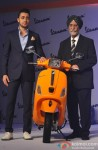 Imran Khan launches Vespa Scooter Pic 4