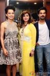 Kangana Ranaut and Rajkummar Rao at Kapil and Monika Arora's collection preview Pic 1