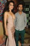 Kangana Ranaut and Rajkummar Rao at Queen's success bash