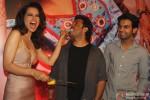 Kangana Ranaut, Vikas Bahl and Rajkummar Rao at Queen's success bash Pic 2