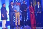 Kunal Vijaykar, Mahie Gill and Sharman Joshi at Times Foodie Awards