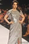 Kangana Ranaut sizzles the ramp at 'Lakme Fashion Week' 2014 Pic 1
