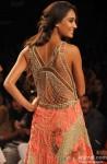 Lisa Haydon ramp walks at 'Lakme Fashion Week' 2014 Pic 1