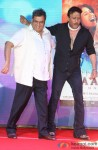 Subhash Ghai and Jackie Shroff during the music launch of 'Kaanchi'