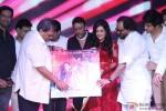 Sulaiman Merchant, Subhash Ghai, Jackie Shroff, Mishti and Kartik Aaryan during the music launch of 'Kaanchi'
