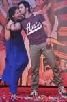Nargis Fakhri and Varun Dhawan during the music launch of Main Tera Hero