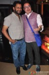 Resul Pookutty and Vinay Pathak during the premiere of 'Ankhon Dekhi'