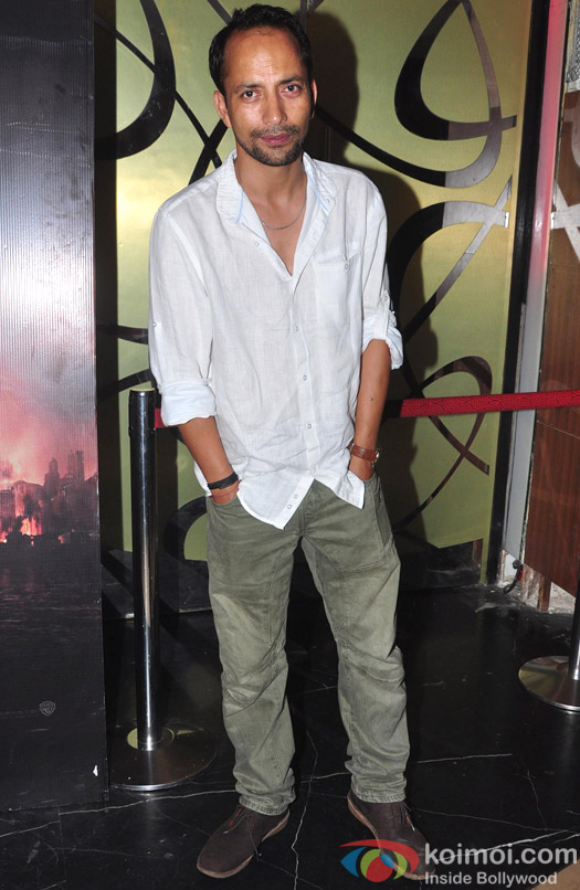 Rajat Kapoor during the premiere of 'Ankhon Dekhi'