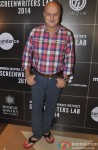 Anupam Kher during the press meet of 'Sundance Institute Screenwriters Lab 2014'