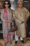 Shabana Azmi and Javed Akhtar during the press meet of 'Sundance Institute Screenwriters Lab 2014'