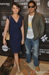 Preeti Jhangiani and Parvin Dabas during the press meet of 'Sundance Institute Screenwriters Lab 2014'