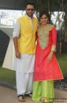 Jackky Bhagnani and Neha Sharma celebrate Holi to promote 'Youngistaan'