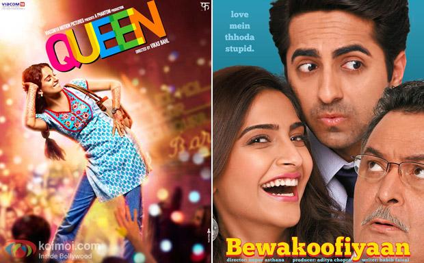 Queen and Bewakoofiyaan movie poster