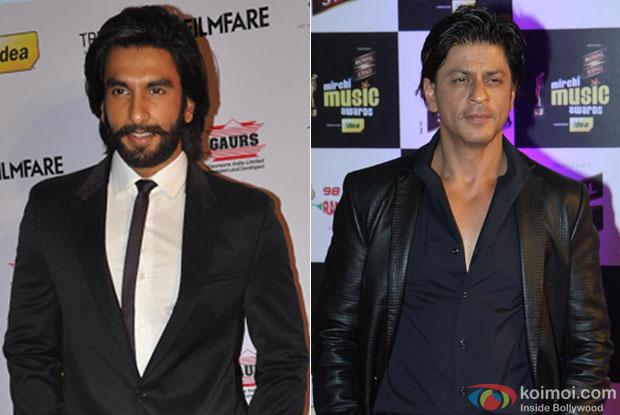 Ranveer Singh and Shah Rukh Khan