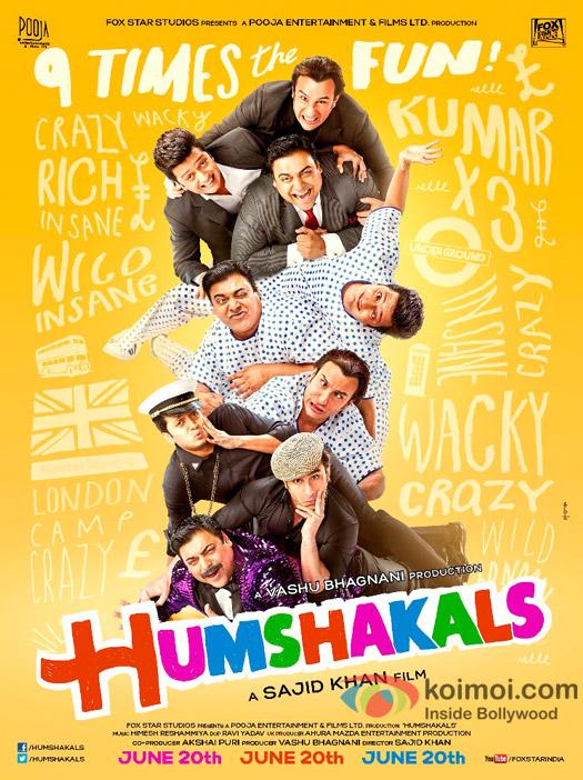 HUMSHAKALS Movie Poster