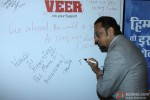 Gulshan Grover during the promotion of 'Veer' campaign