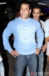 Salman Khan and Pulkit Samrat during the special screening of film 'O Teri'