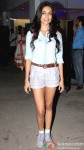 Sarah Jane Dias during the special screening of film 'O Teri'