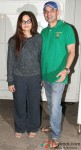 Alvira Agnihotri and Atul Agnihotri during the special screening of film 'O Teri'