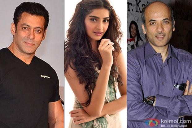 Salman Khan, Sonam Kapoor and Sooraj Barjatya