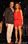 Punit Malhotra and Hard Kaur at Manish Malhotra's grand fashion show