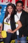 Shilpa Shetty and Raj Kundra at the special screening of 'Dishkiyaoon'