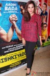 Sophie Choudry at the special screening of 'Dishkiyaoon'