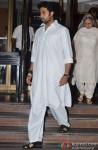 Abhishek Bachchan at Bobby Chawla's condolence meet