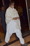 Amitabh Bachchan at Bobby Chawla's condolence meet