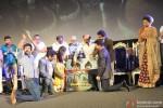 Rajnikanth, A R Rahman, Shah Rukh Khan and Deepika Padukone at Kochadaiyaan's Music Launch Pic 1