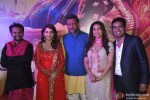 Soumik Sen, Madhuri Dixit, Anubhav Sinha, Juhi Chawla and Mushtaq Sheikh During The Premiere of Movie 'Gulaab Gang'
