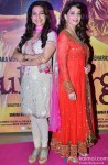 Juhi Chawla and Madhuri Dixit During The Premiere of Movie 'Gulaab Gang' Pic 1
