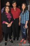 Shweta Kumar and Indra Kumar During The Premiere of Movie 'Gulaab Gang'