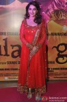 Madhuri Dixit during the premiere of movie 'Gulaab Gang'