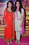 Madhuri Dixit and Juhi Chawla During The Premiere of Movie 'Gulaab Gang' Pic 2