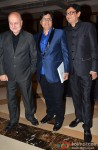 Anupam Kher attends Vashu Bhagnani's party to celebrates 25 Movies in Bollywood