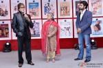 Amitabh Bachchan, Jaya Bachchan and Abhishek Bachchan attend Vashu Bhagnani's party to celebrates 25 Movies in Bollywood
