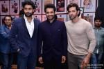 Abhishek Bachchan, Jackky Bhagnani and Hrithik Roshan attend Vashu Bhagnani's party to celebrates 25 Movies in Bollywood
